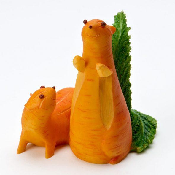 Морковные белочки