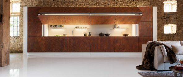 Современная скрытая кухня