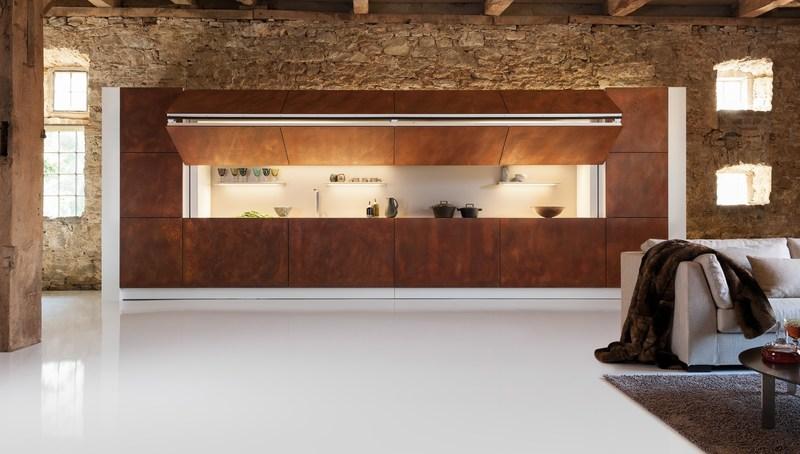 Кухня-невидимка в интерьере квартиры