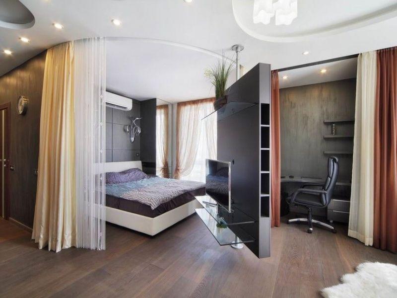 4 способа недорого разделить комнату на зоны