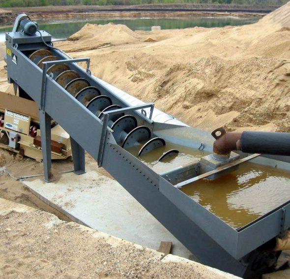Промывка песка