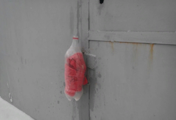 Колпак из пластиковой бутылки