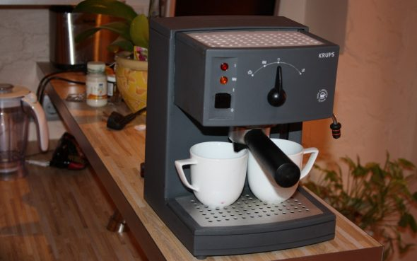 Кофемашина на столешнице