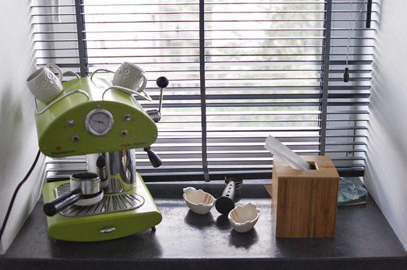 Кофемашина с манометром