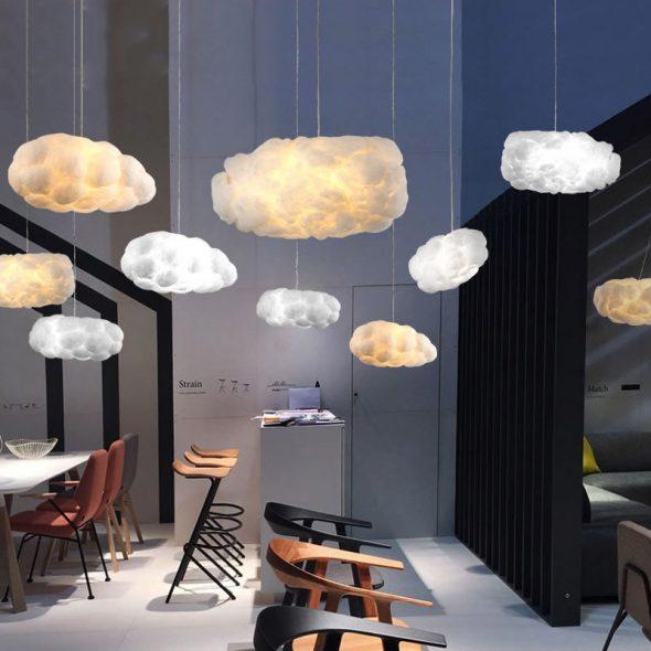 Светильники в виде облаков