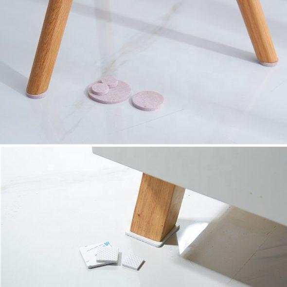 Колодки на ножках мебели