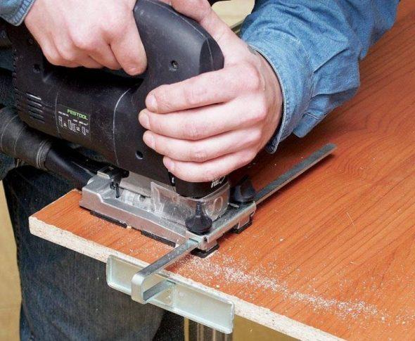 Процесс создания стола