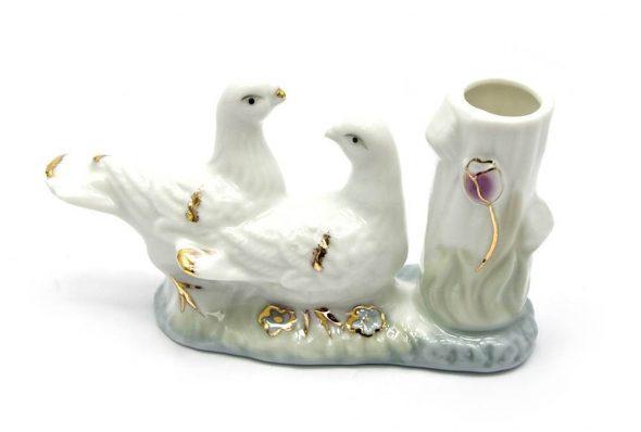 Пара декоративных птиц