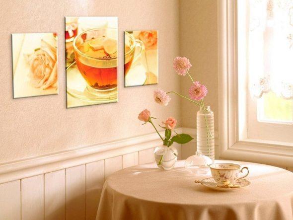 Постер с чашкой чая