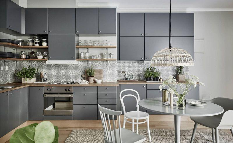 Стильная серая кухня: вдохновляющая подборка интерьеров