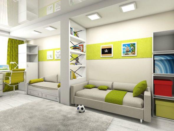Комната для 2-х детей