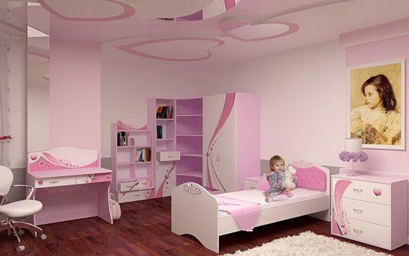 Комната маленькой принцессы