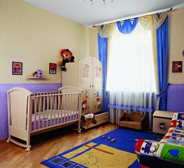 Комната для годовалого ребенка