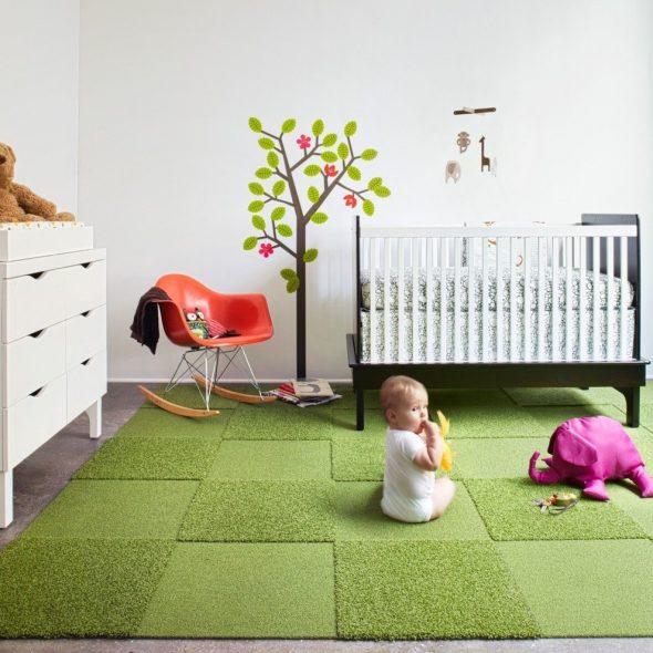Ковровое покрытие для детской комнаты