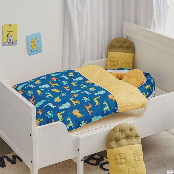 Съёмный детский бионический матрас для кроватки