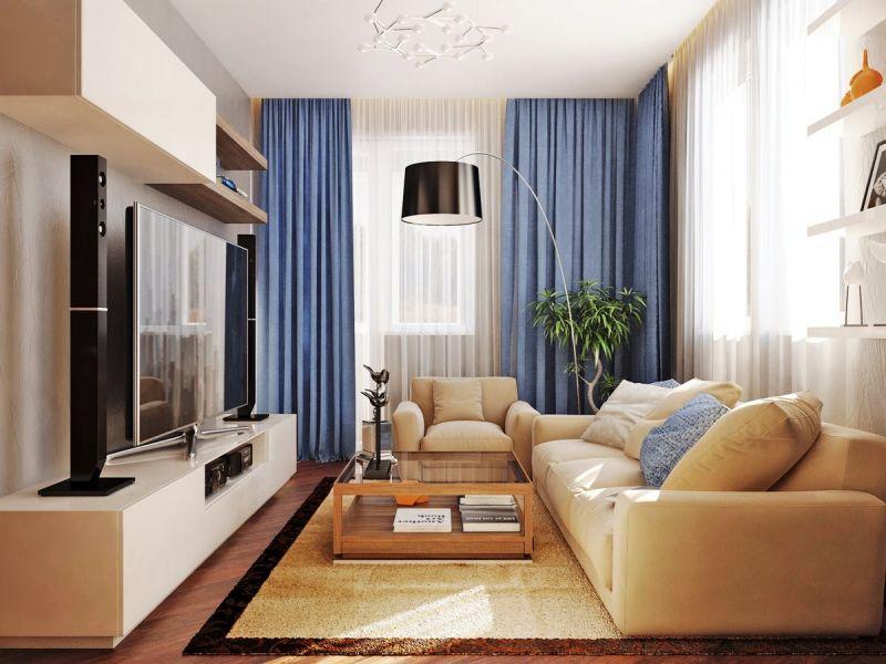 Какую мебель выбрать для маленького зала