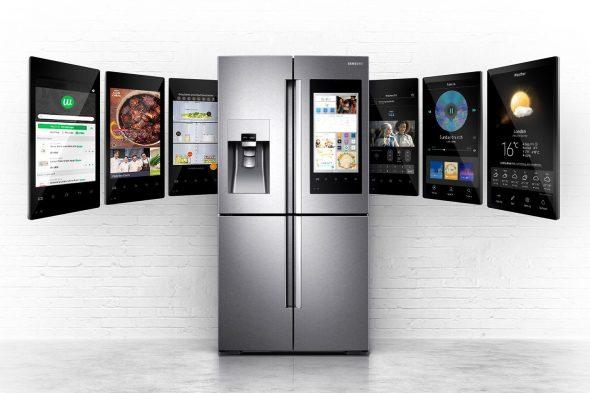 Умный холодильник от Samsung