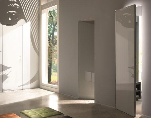 Двери без наличников с рисунком