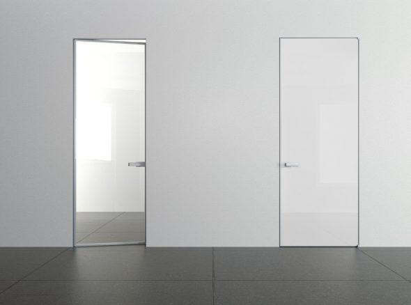 Прозрачное стеклянное полотно