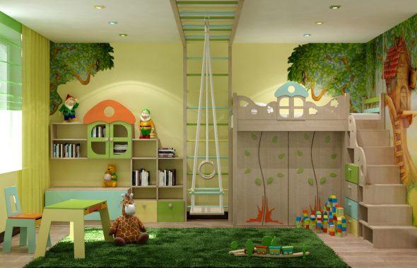 Красивая детская комната