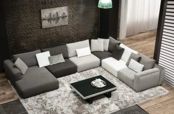 Модульный диван «Капри Selecta»