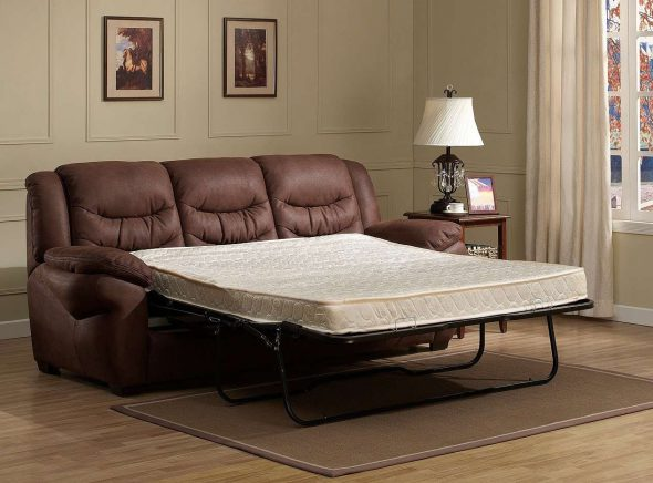 Диван кровать кожаный раскладной
