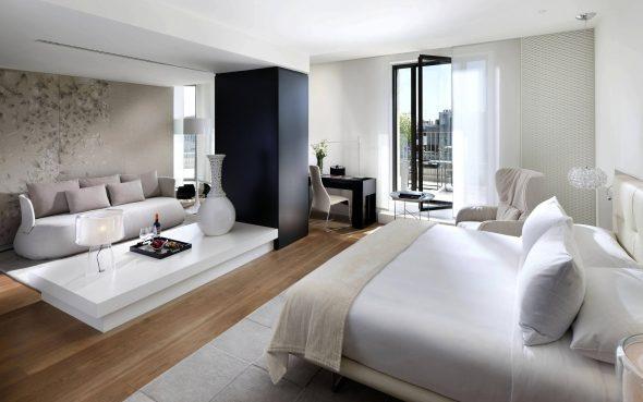 Современная спальня-гостиная