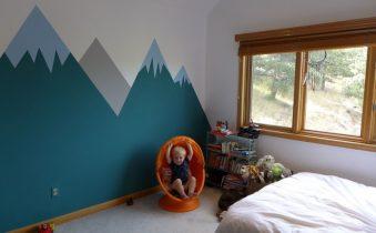 стены в детской