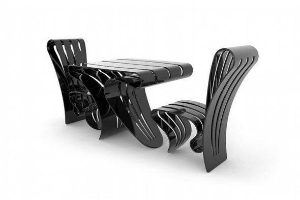 Дизайнерская пластиковая мебель