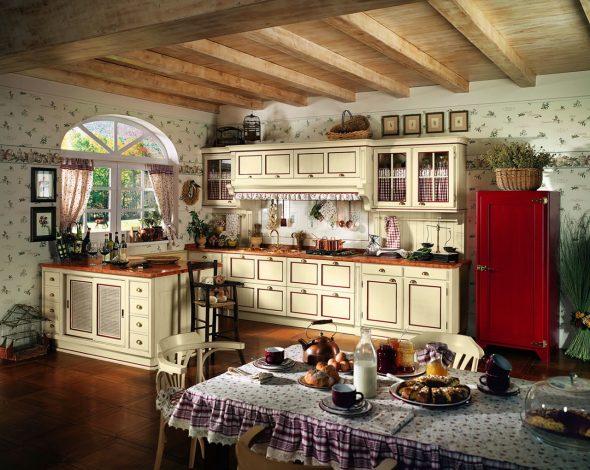 Итальянская кухня в стиле Кантри