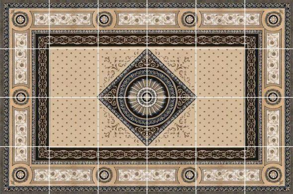 Ковёр из керамической плитки