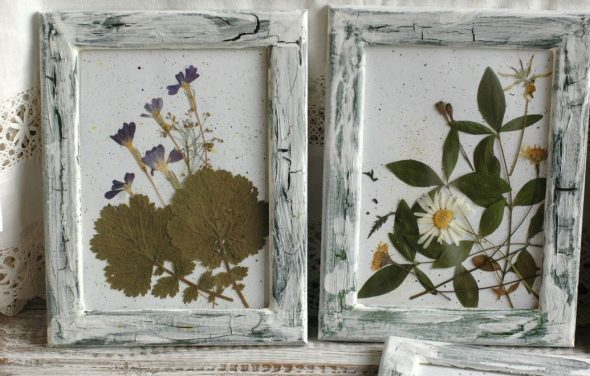 Картины из природных материалов