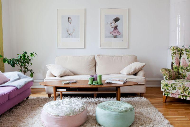 Дизайн гостиной в пастельных тонах: подборка вдохновляющих идей