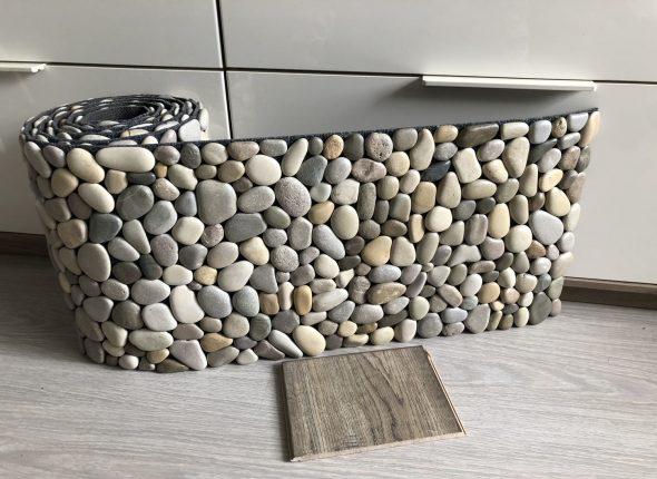 Коврик из камня