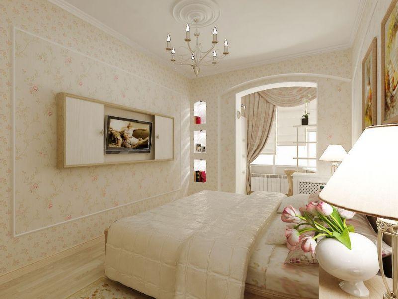 10 идей оформления маленького окна в спальне