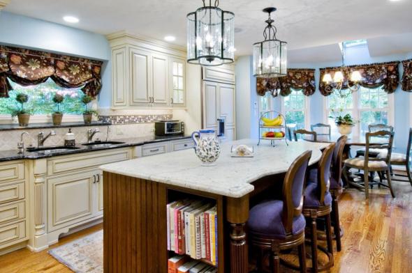 Стиль эклектика в дизайне интерьера кухни