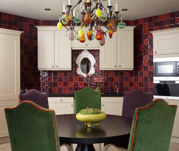 Кухонный гарнитур в стиле Эклектика