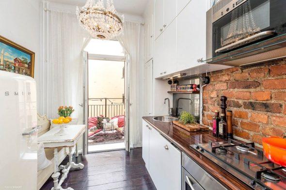 Кухня в стиле Скандинавская Эклектика