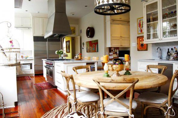 Кухня-столовая в стиле Эклектика