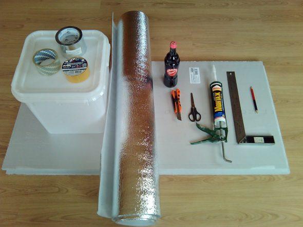 Материалы для холодильника в машину
