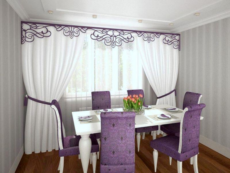 Жалюзи или шторы: что повесить на кухне