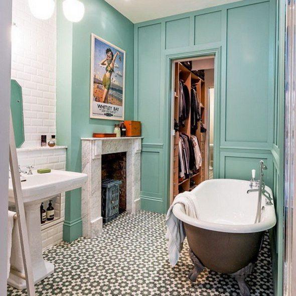Ванная комната в стиле Эклектика