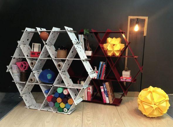 Мебель из картонных модулей