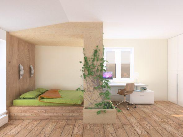 Детская комната в эко-минимализме