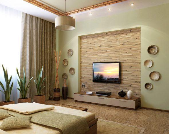 Дизайн квартиры в эко-стиле