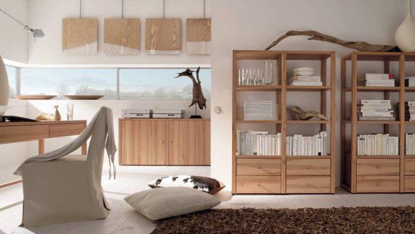 Мебель в экостиле