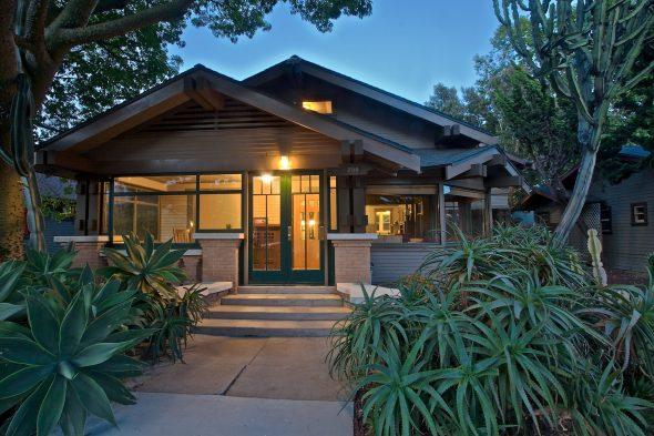 Деревянный дом в Калифорнии