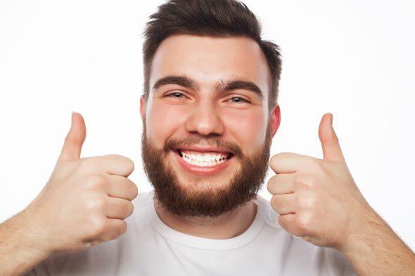 позитивный мужчина