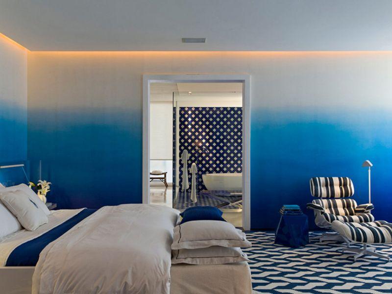 Дизайн квартиры красками: простые и оригинальные идеи на фото