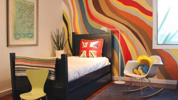 дизайн квартиры красками